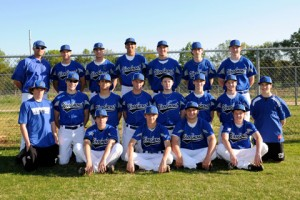2012 Woodmont Varsity Baseball Team