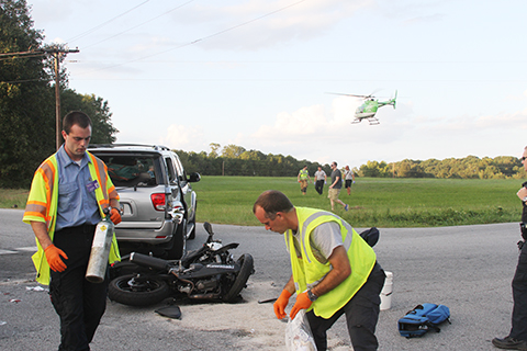 Motorcycle and SUV accident – West Georgia RD | The Journal