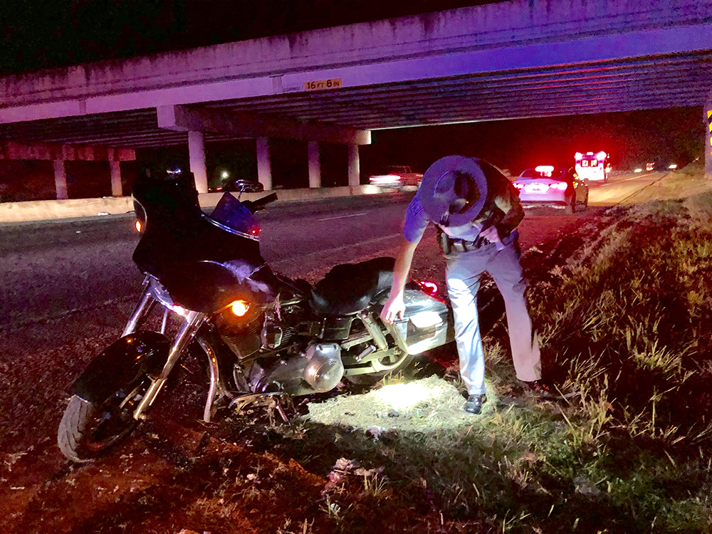 Motorcyclist injured on I-85   The Journal Online